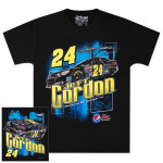 Jeff Gordon - 2014 Chase Authentics  Pepsi Adult Burnout Tee