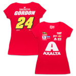 Jeff Gordon - 2015 Chase Authentics  Axalta Ladies Uniform Tee