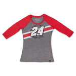 Jeff Gordon - 2015 Chase Authentics Ladies Track 3/4 Sleeve Tee