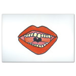 Santigold Mouth Sticker