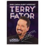 Terry Fator Photo with Autograph Facsimile
