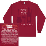 2011 Outside Lands Long Sleeve Event Tee