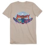 Journey 2014 Tour Rainbow Circle Logo T-Shirt