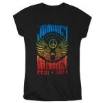 Journey 2014 Tour San Francisco Wings Logo Ladies T-Shirt