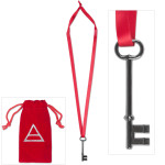 Thirty Seconds to Mars - Hurricane Key Necklace
