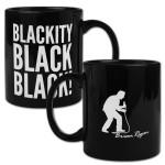 Brian Regan Blackity Black Coffee Mug