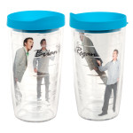 Brian Regan 16oz Tervis Tumbler with Turquoise Lid