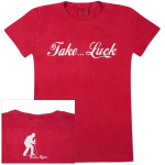 Brian Regan Take Luck Script Ladies S/S Tee