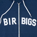 BIRBIGS Flex Fleece Zip Hoodie - Blue