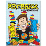 The Art of the Brick Coloring Book