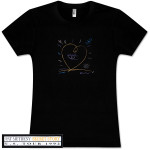 Pat Metheny - Black Secret Story Girlie T-Shirt