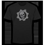 Gears of War Large Gray Omen T-Shirt