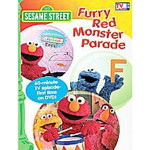 Furry Red Monster Parade DVD