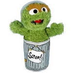 Oscar the Grouch 10 Inch Plush