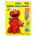 Elmo's Funny Friends 4 Book Set