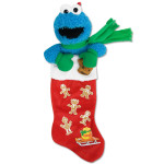 Cookie Monster Plush Stocking