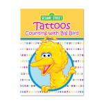 Counting w/ Big Bird Tattoo Book