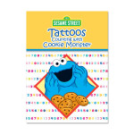 Counting w/ Cookie Monster Tattoo Book