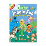 Sesame Street Jungle Fun Sticker Activity Book