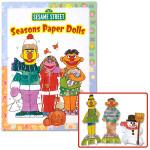 Sesame Street Seasons Paper Dolls Book