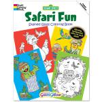 Safari Fun Gem Glow Coloring Book