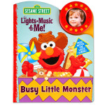 Lights Music & Me: Busy Little Monster Book