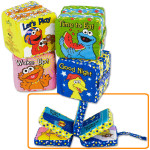 All Day With Sesame Block Book 4-Pack