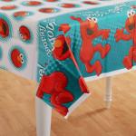 Elmo Plastic Tablecover