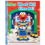 What Will Elmo Be? Book