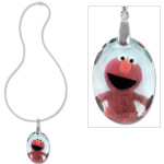 Elmo Crystal Pendant Necklace