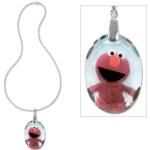 Elmo Crystal Pendant Necklace