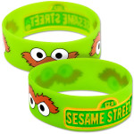 Oscar the Grouch Silicone Wristband