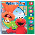 Sesame Street Opposite Day Sound Book