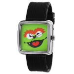 Oscar the Grouch Gun Metal Watch