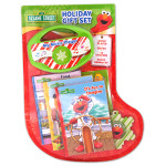 Sesame Street Christmas Gift Set Stocking