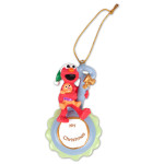 Elmo My Christmas Blue Ornament