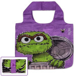 Oscar the Grouch Purple Reusable Tote