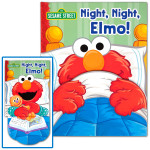 Sesame Street Night, Night, Elmo! Book