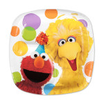Elmos Party Pocket Dessert Plate