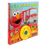 Sesame Street Big Fire Truck Book