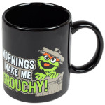 Sesame Street - Oscar Mornings Make Me Grouchy Ceramic Mug