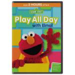 PRE-ORDER Sesame Street: Play All Day with Elmo DVD