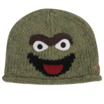 Oscar the Grouch Wool Toddler Beanie