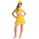 Big Bird Youth Girl Costume