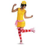 Big Bird Ladies Sassy Costume
