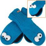 Cookie Monster Kids Mittens