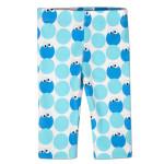 Cookie Monster Pattern Leggings