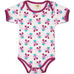 Abby Pattern Infant Snapsuit