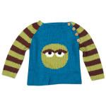 Oscar the Grouch Circle Pullover
