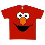 Elmo Face Toddler Tee